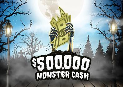$500,000 Monster Cash Logo