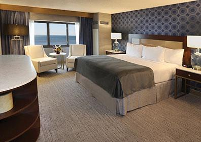 South Tower Accessible Room King at Tropicana Atlantic City