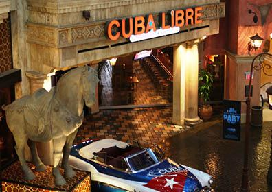Outside of Cuba Libre Restaurant & Rum Bar