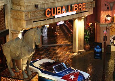 Outside of Cuba Libre Restaurant & Rum Bar