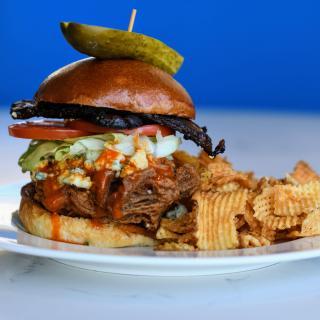 Chicken Sandwich at Chelsea Five