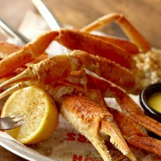 Crab Legs at Hooters