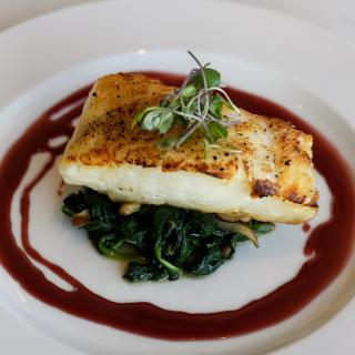 Sea Bass at Chelsea Five