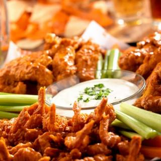 Wing Platter at Hooters