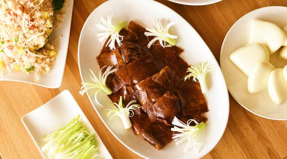 Peking Duck at Golden Dynasty