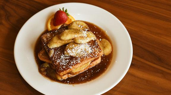 French Toast at Seaside Cafe