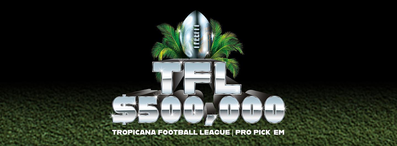 Tropicana Football League Pro Pick 'Em
