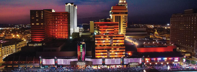 Tropicana Atlantic City Exterior