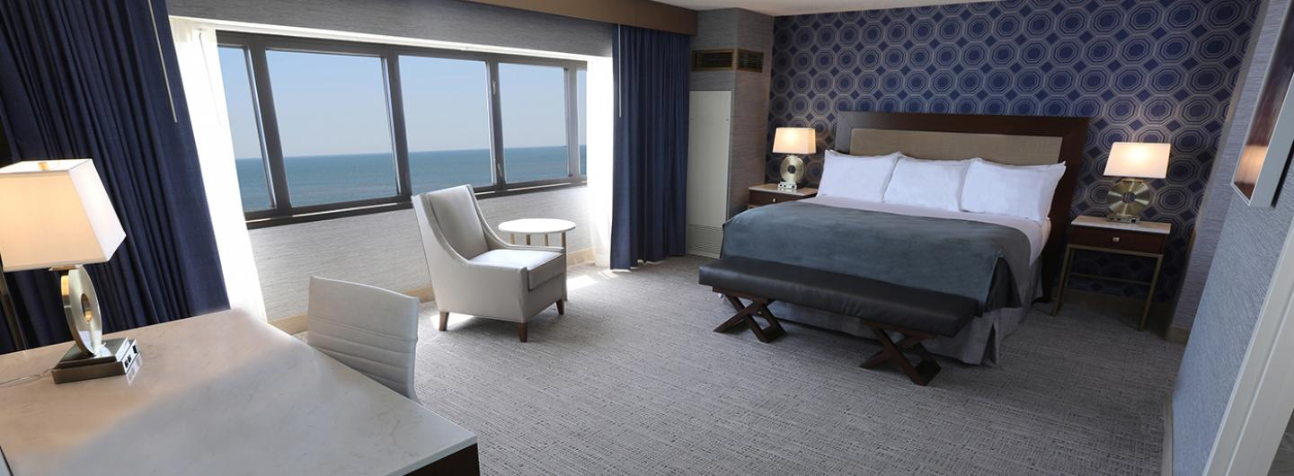 South Tower Boardwalk Suite at Tropicana Atlantic City