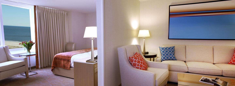 North Tower King Suite at Tropicana Atlantic City