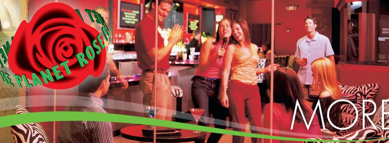 Planet Rose people singing karaoke