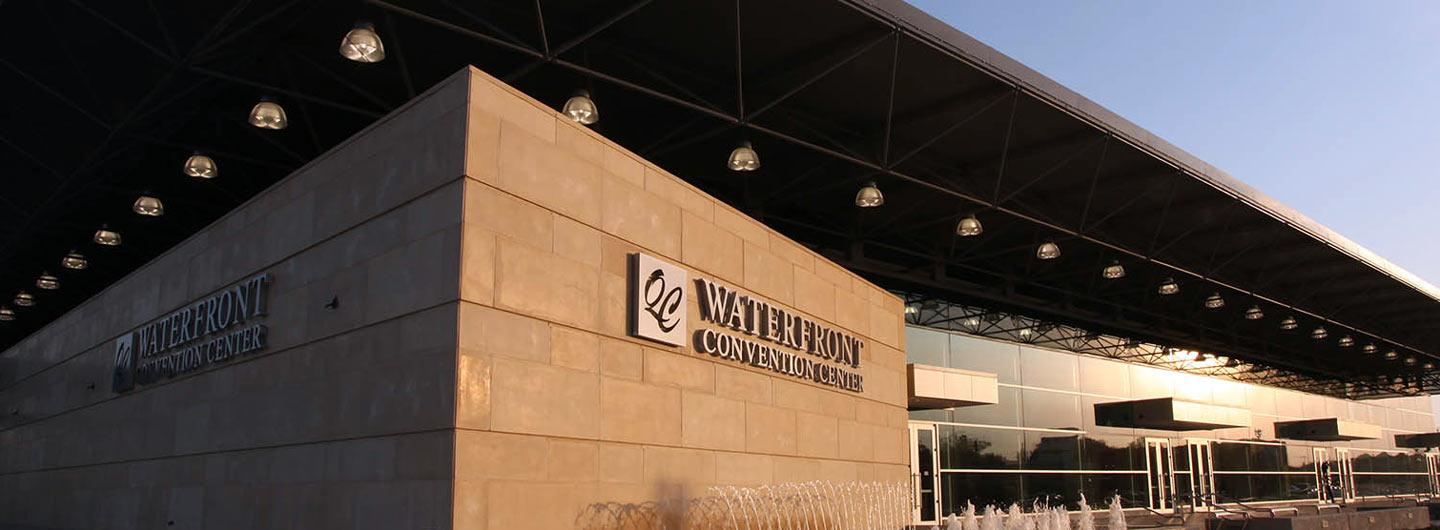 Exterior view of Waterfront Convention Center