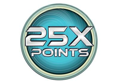 25 times points