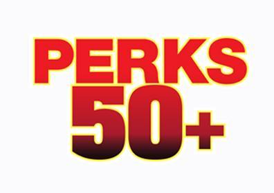50+ Perks