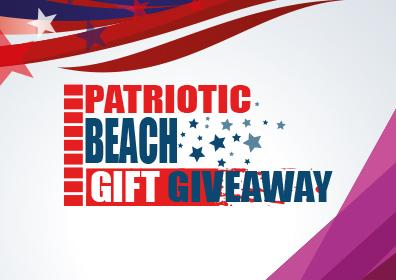 Patriotic Beach gift Giveaway