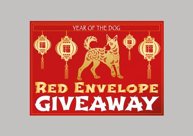 Red Envelope Giveaway