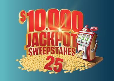 jackpot sweestakes 25