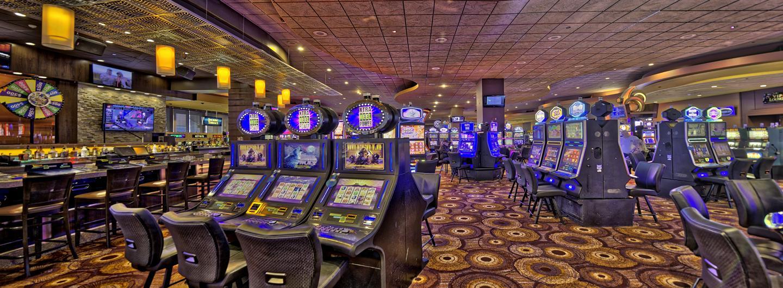 Isle Casino floor - slots