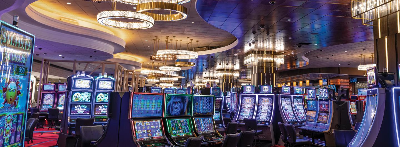 Casino floor at the Isle Casino Hotel, Black Hawk, CO