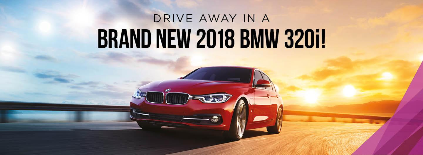 Brand New 2018 BMW 320i Car