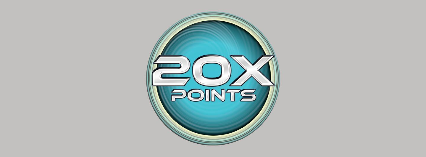 20X Points Penny Slots