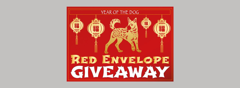 Red Envelope Giveaway