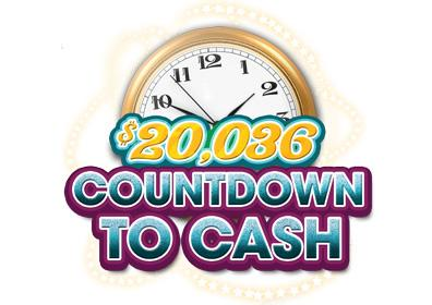 $20,036 countdown to cash