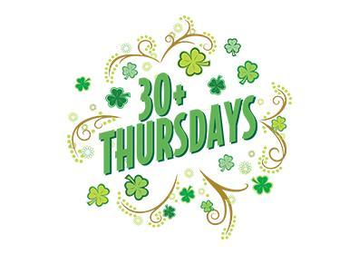 30+ Thursdays