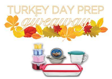 Turkey Day Prep Giveaway