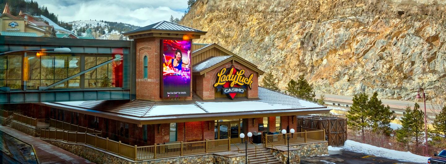 Exterior view of Lady Luck Casino Black Hawk