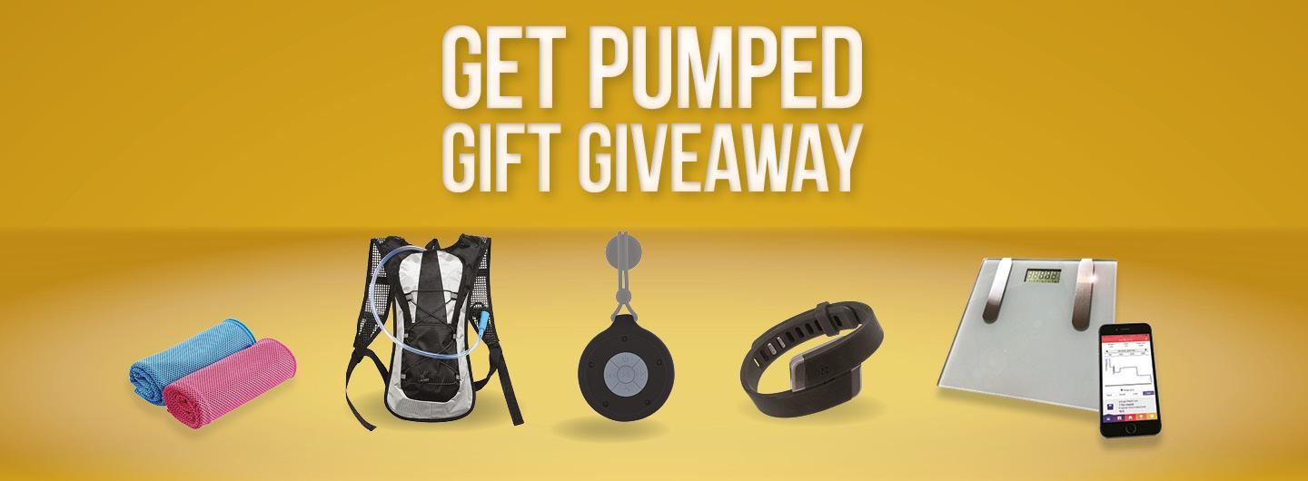 Get Pumped gift Giveaway