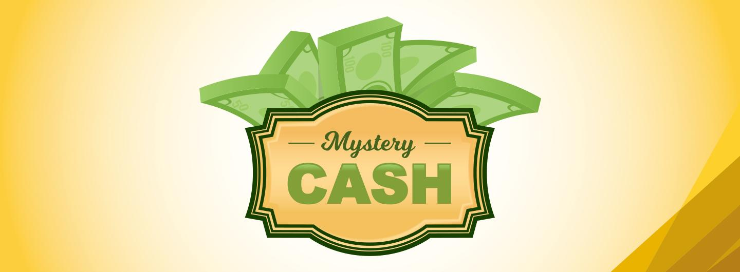 Mystery Cash Tuesdays in August