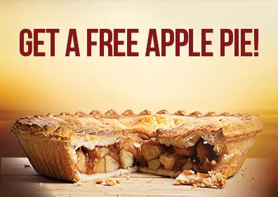Get a Free Apple Pie Card Image