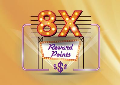 8x Points Card Image