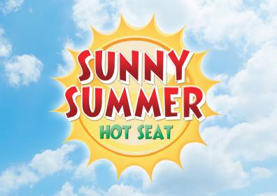 Sunny Summer Hot Seat Card Image