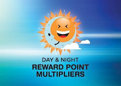 Day & Night Reward Point Multiplier Card
