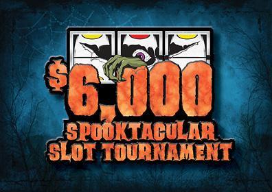 Spooktacular Slot Tournament Card