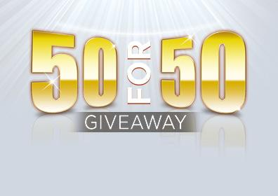 50 for 50 Card Image