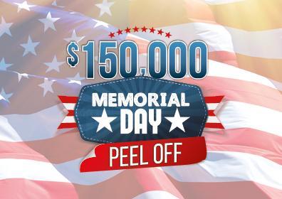 Memorial Day Peel Off
