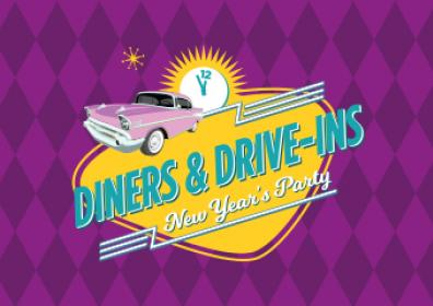 diners and drive ins new year's eve
