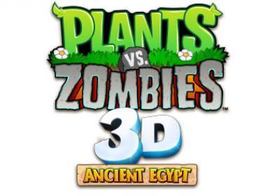 Plants vs. Zombies 3D Ancient Egypt logo