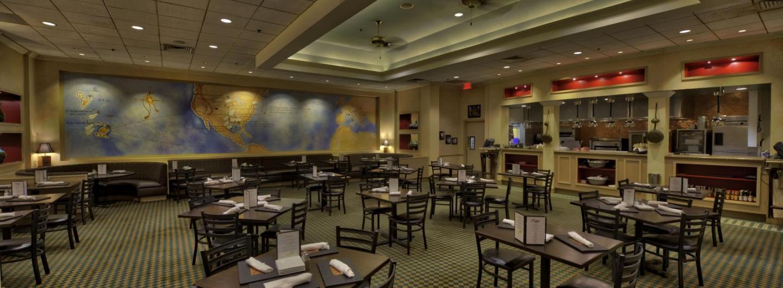interior of Farraddays Steakhouse