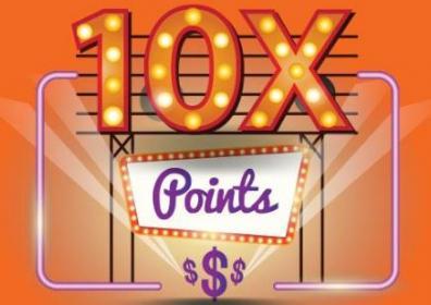 10x points logo