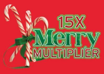 15X merry multiplier logo