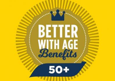 Better with age logo