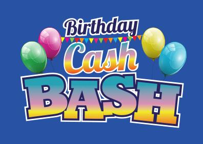 Birthday Cash Bash logo