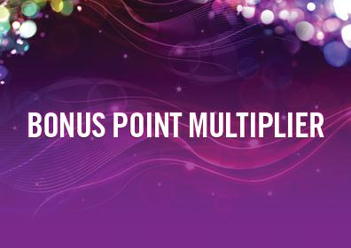 Bonus Point Multiplier Day logo