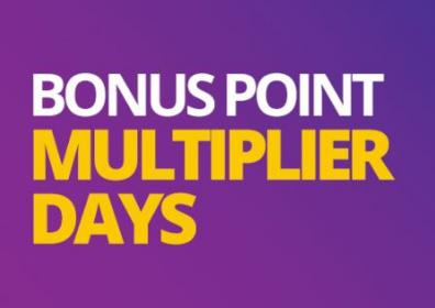 Bonus point multiplier logo