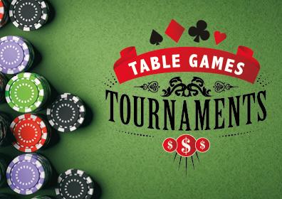 Table game tournament logo