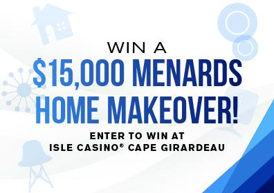 Menards home giveaway logo